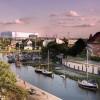 Langer Kanal und Werft