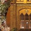 Weihnachtliche Rathausfassade