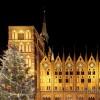 Rathaus und Weihnachtsbaum