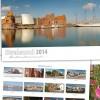 Postkartenkalender Stralsund 2014